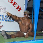 Striptease Odesa - Male stripper mulatto David for Hire - Photo 4