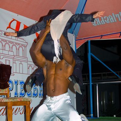 Striptease Odesa - Male stripper mulatto David for Hire - Photo 5